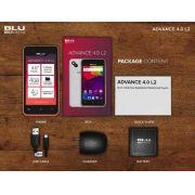 Celular Smartphone Blu Advance L2 Chips 4gb 3g + Capinha - ILIMITI SHOP