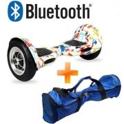 Skate Elétrico 10 Pol Overboard Bluetooth Hoverboard + Bolsa - ILIMITI SHOP