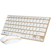 Teclado Mouse Sem Fio Wifi 2.4 Ghz Slim Hk-3910 Ipad Tablet - ILIMITI SHOP