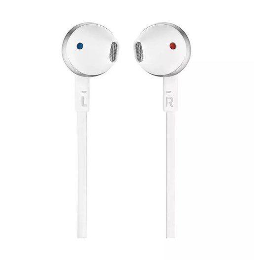 Fone Earbuds Jbl T205 Branco/prata Headphone - ILIMITI SHOP