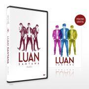 DVD Luan Santana Ac�stico + P�ster GR�TIS