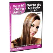 DVD V�deo Aula - Corte de Cabelo Liso - Tv Treina Video
