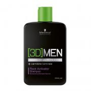 Shampoo Root Activator 3D Men Schwarzkopf 250ml