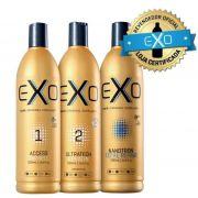 fcdd38bbd Exo Hair Exoplastia Capilar Progressiva Sem Formol + Mascara Nanotron