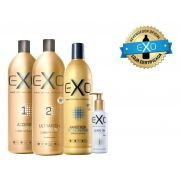 Exo Hair  Kit Exoplastia Capilar Progressiva Sem Formol + Mascara Nanotron + Leave on Nano Repair
