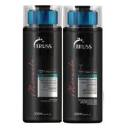 Kit Shampoo + Condicionador Miracle TRUSS 2 x 300 ml