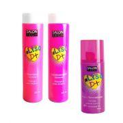Kit Trio #LISOD+ Shampoo + Condicionador 300ML + Fluído Termoativado 200ML – SALON TECH
