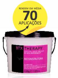 Botox Capilar  BTX THERAPY Salon Tech - 2,2 kg Até 70 aplicações
