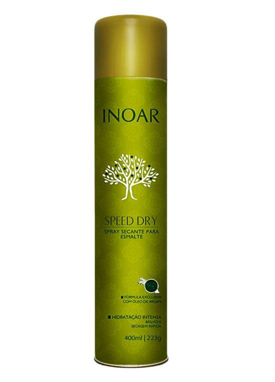 Inoar speed dry argan spray secante para esmalte 400ml for Esmalte para baneras en spray