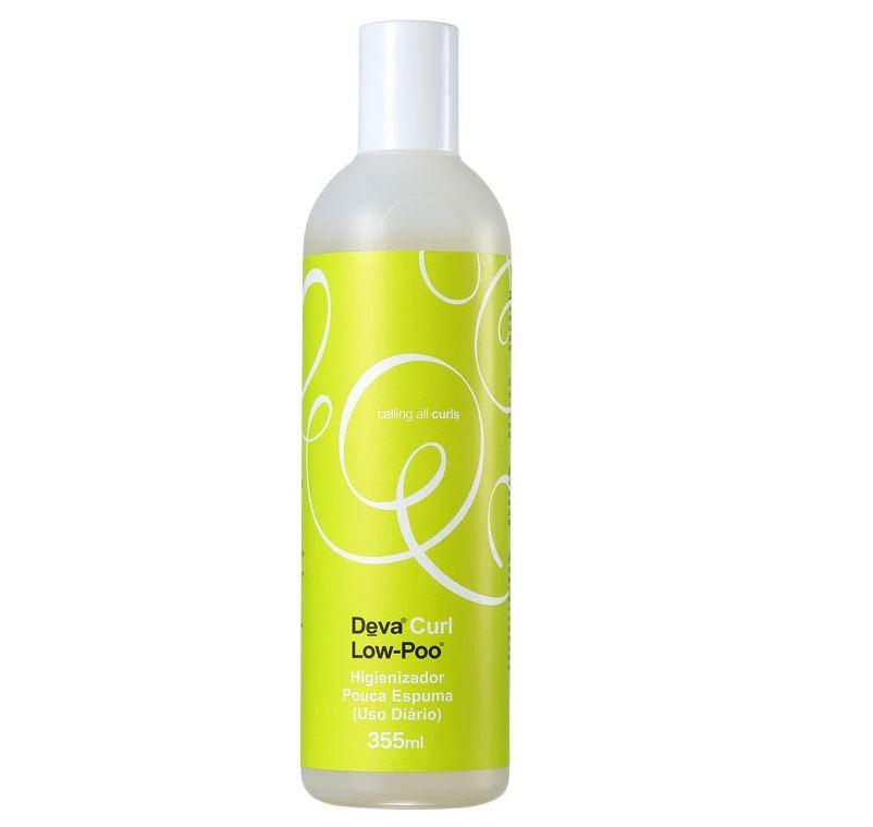Shampoo Low-Poo Deva Curl - Higienizador para Cabelos Cacheados 355ml
