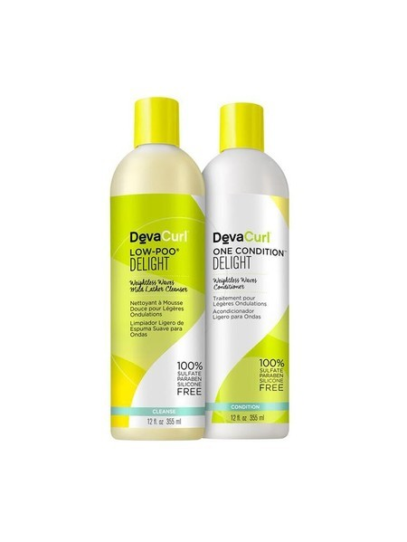 Kit Deva Curl Duo Delight 2x355ml Low-Poo + One Condition