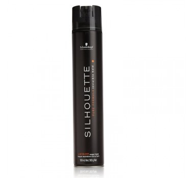 Laque fixador  silhouette hair s.super hold    500ML - Schwarzkopf