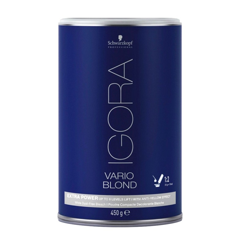 Pó Descolorante Igora Vario Blond Extra Power White 450g - SCHWARZKOPF
