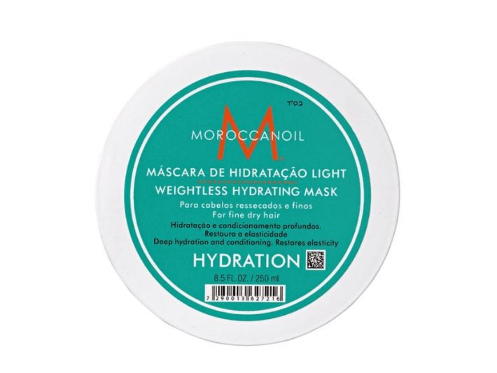 Máscara Hidratante Weightless Hydrating Moroccanoil 250ml