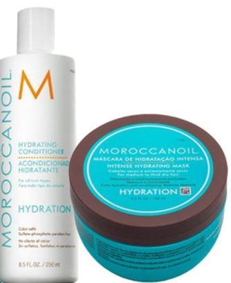 Kit Hidratação Hydrating Moroccanoil (Condicionador + Máscara)