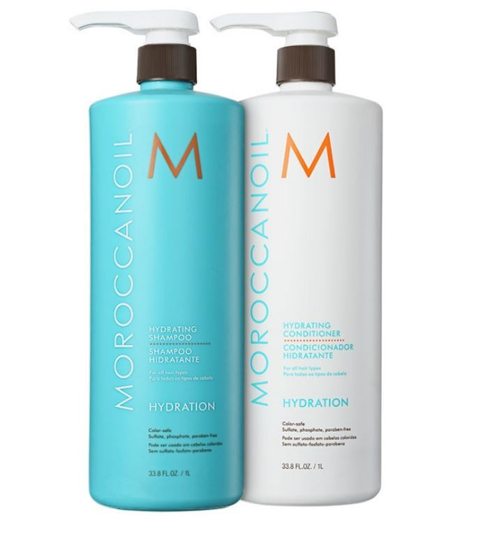Kit Hydrating Duo Moroccanoil 2x1000ml + BRINDE