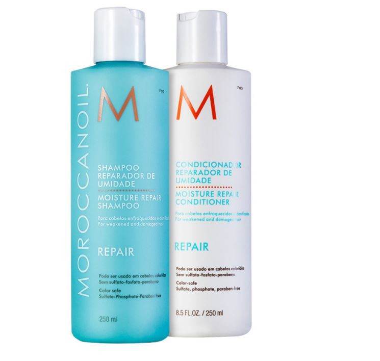 Kit Duo Moisture Repair Moroccanoil 2x250ml