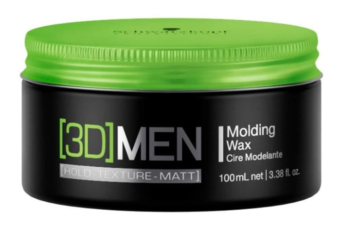 Cera Modeladora 3D Men Molding Wax 100ml Schwarzkopf
