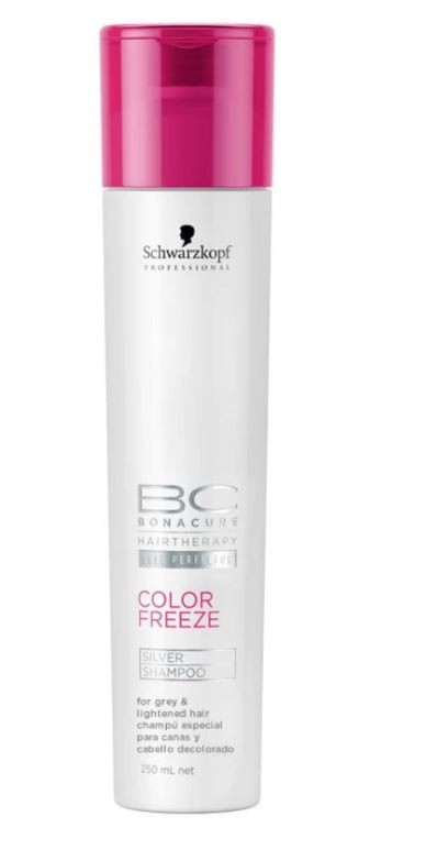 Shampoo Color Freeze Silver BC Bonacure Schwarzkopf 250ml