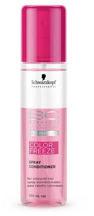 Leave-in Condicionador Spray Color Freeze BC Bonacure 200ml