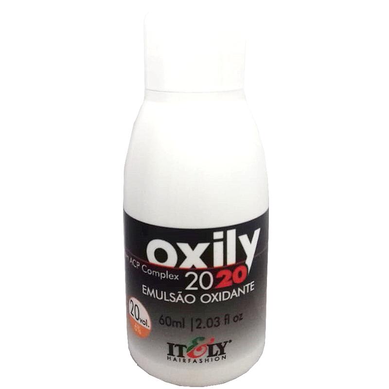 Água Oxigenada OX 20vol 60ml Emulsão Oxidante Itely