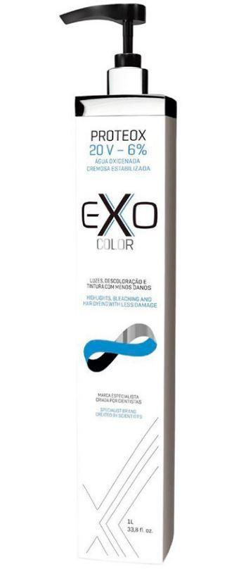 Água Oxigenada Proteox EXOCOLOR 20V EXO Hair 1L