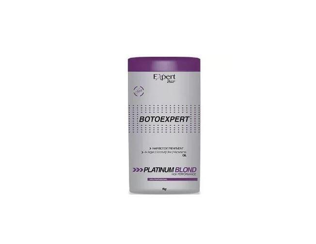 Botox Platinum Blond Capilar Profissional Expert Hair 1kg