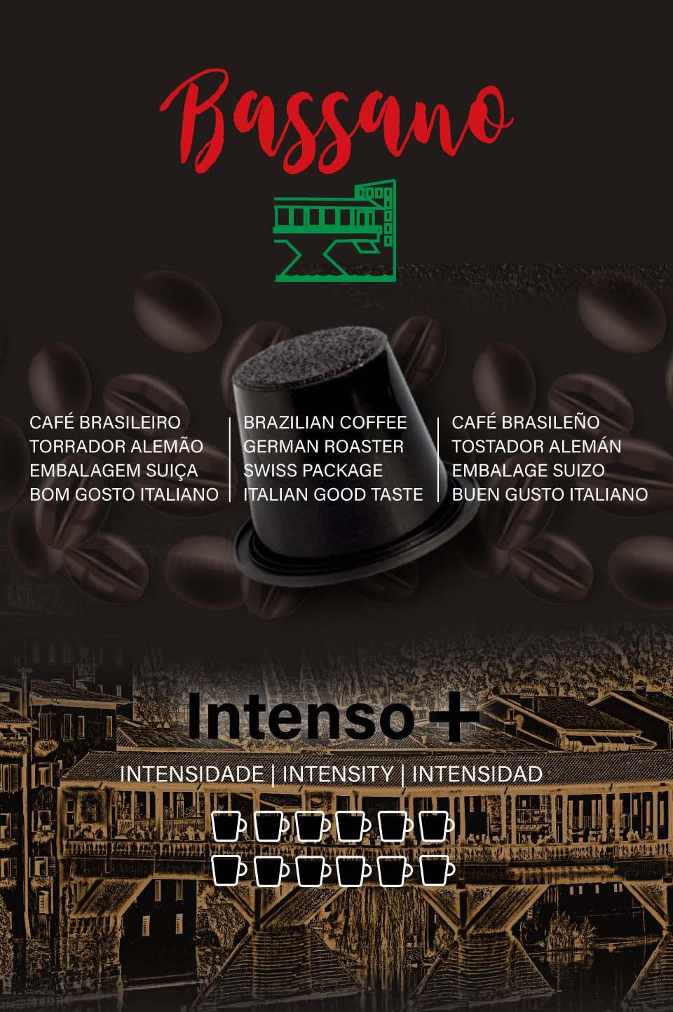 Café Bassano - Intenso +