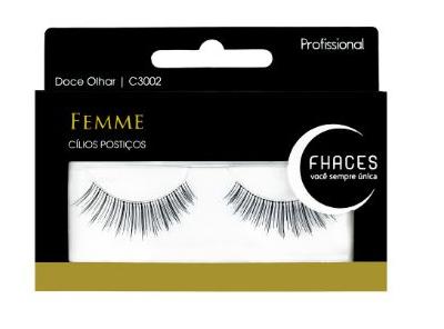 Cílios Postiços - Femme Doce Olhar - Curto C3002 - Fhaces