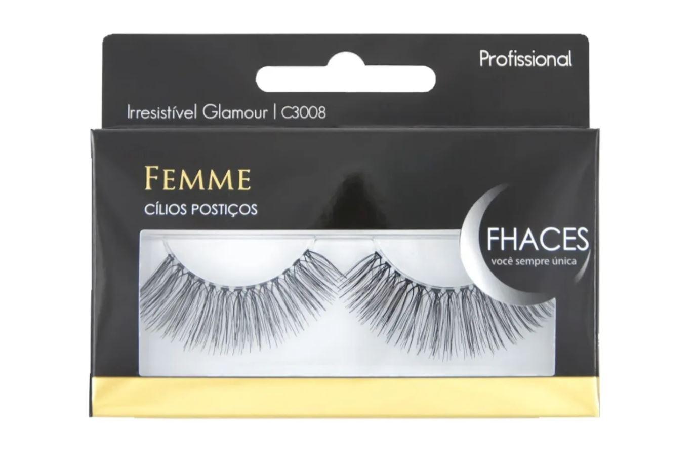 Cílios Postiços - Femme Irresistível Glamour C3008 - Fhaces
