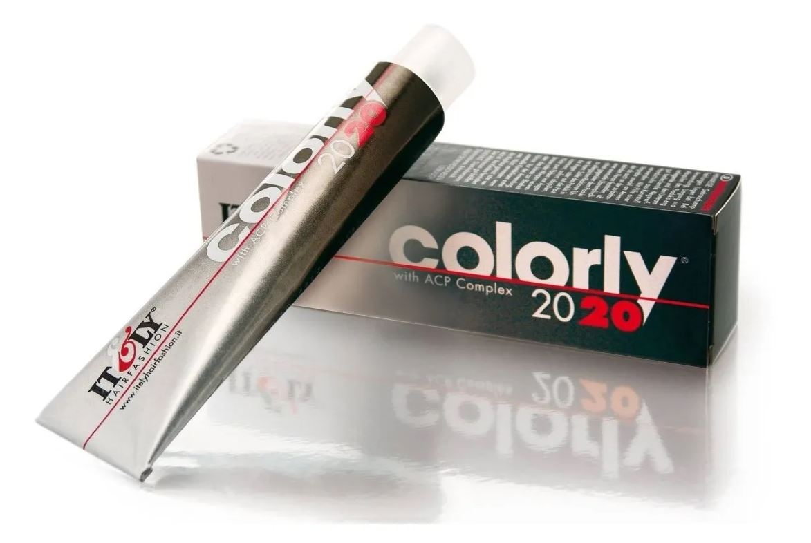 Coloração Tinta Permanente - Louro Claro Laranja Dourado 8FA - Itely Colorly 60ml
