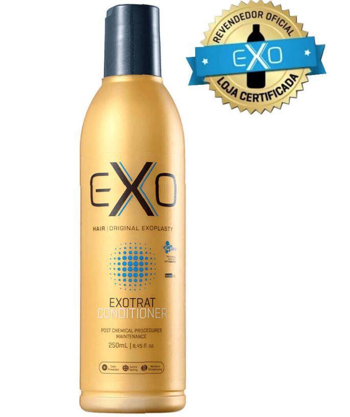 Condicionador EXO Hair Exotrat Nano para manutenção pós química  250ml