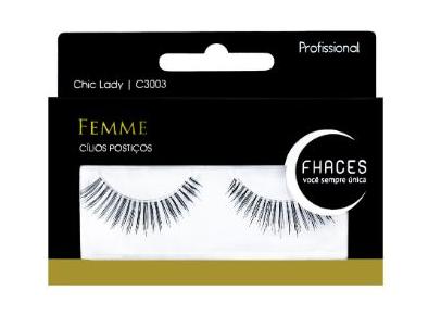 Cílios Postiços - Femme Chic Lady C3003 - Fhaces
