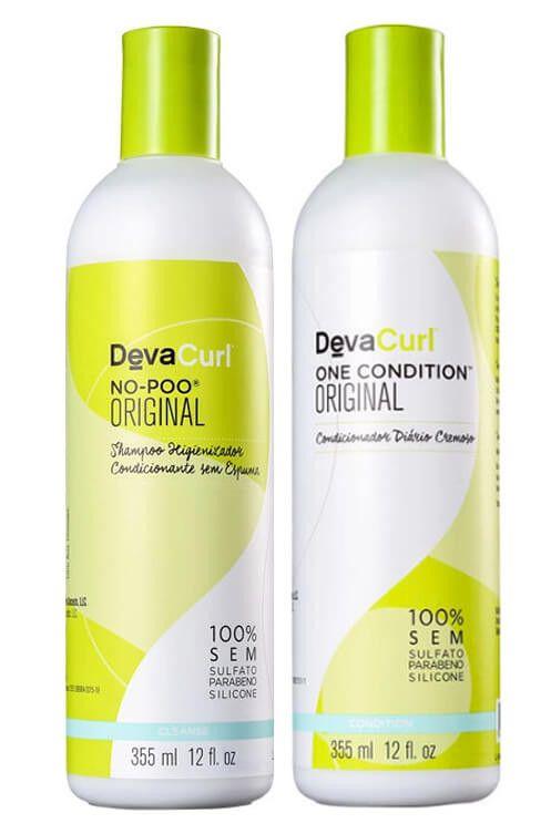 Deva Curl No-Poo Duo Kit (2 Produtos)