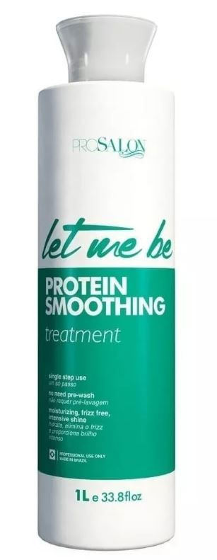 Escova Progressiva Smoothing Passo Unico - Let Me Be 1 Litro