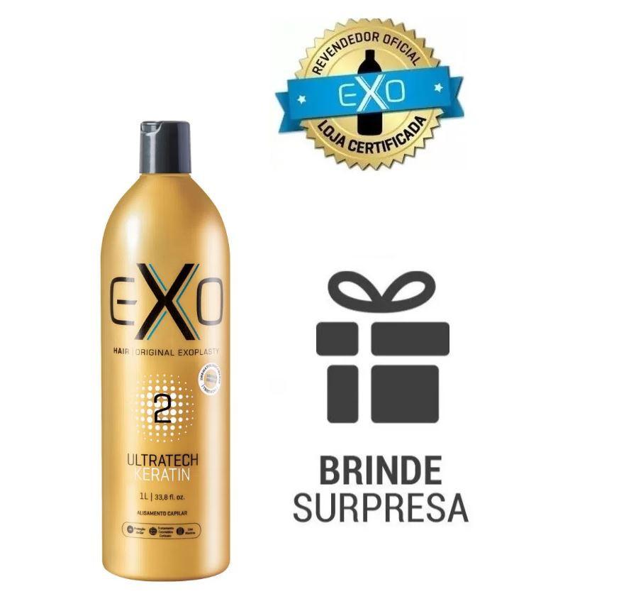 Exo Hair Exoplastia Escova Progressiva 1000ml Passo 2