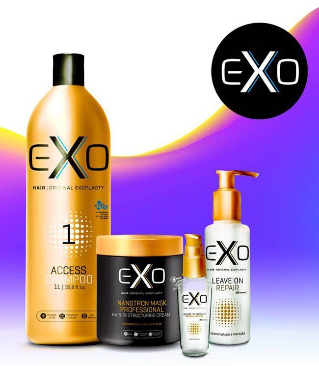 Exo Hair Kit Hidratação Nanotrônica (4 Produtos)