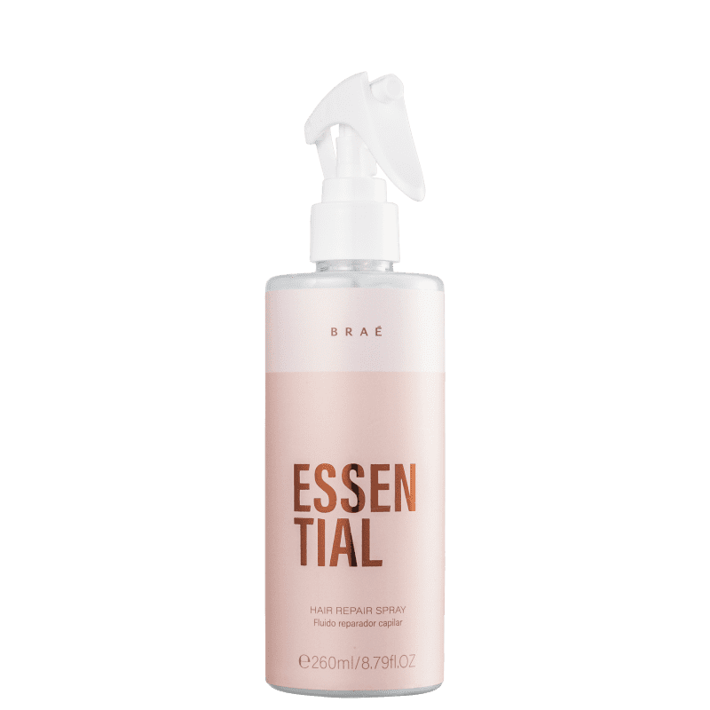Fluido Spray Reparador Capilar Essential BRAÉ 260ml