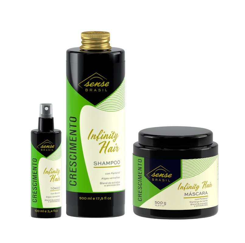 Kit Crescimento Infinity Hair Sense Brasil