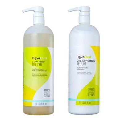 Kit Delight Low-Poo + One Condition 1000 ml