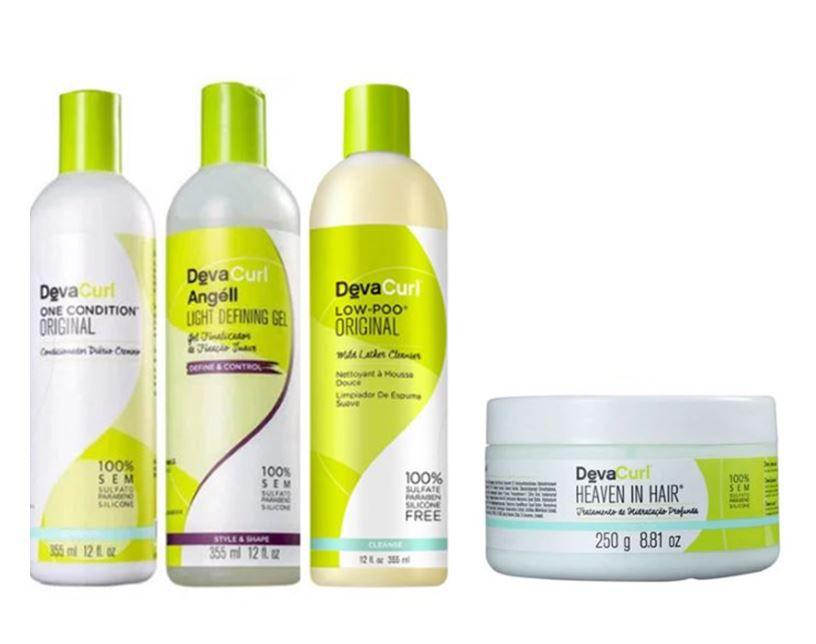Kit Deva Curl Cachos Lindos (4 produtos )