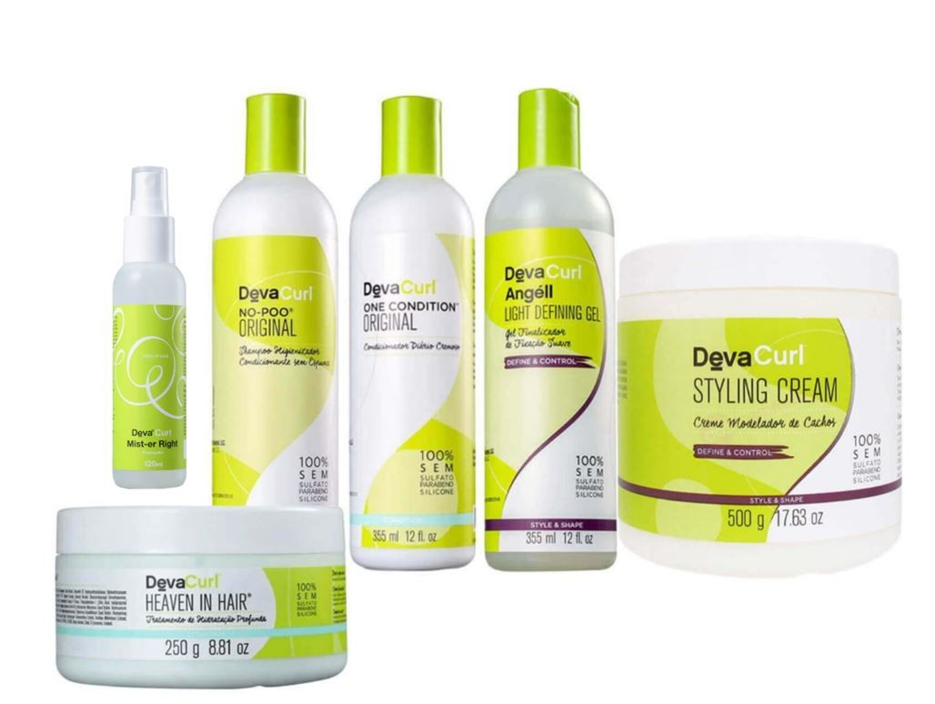 Kit Deva Curl Completo - 6 Produtos
