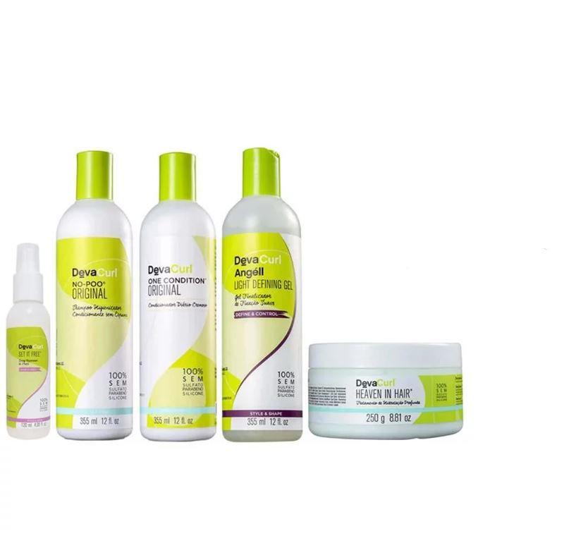 Kit Deva Curl Hidratante - 5 Produtos