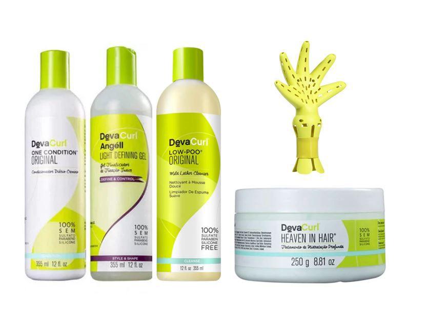 Kit Deva Fuser Deva Curl ( 5 produtos )