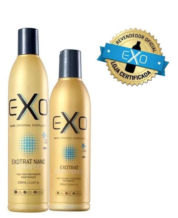 Kit EXO Hair Home Use Manutenção Pós Progressiva