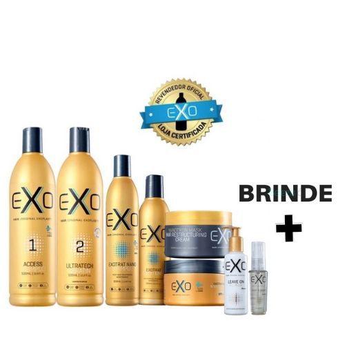 Kit Exoplastia + Manutenção Completo - Exo Hair