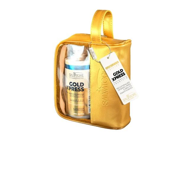 Kit Gold Xpress Shampoo + Condicionador Salvatore + Necessaire