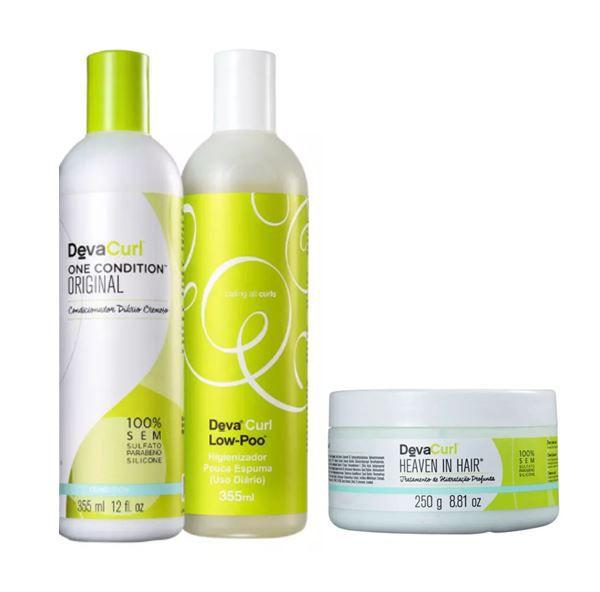 Kit Heaven Deva Curl (3 produtos)
