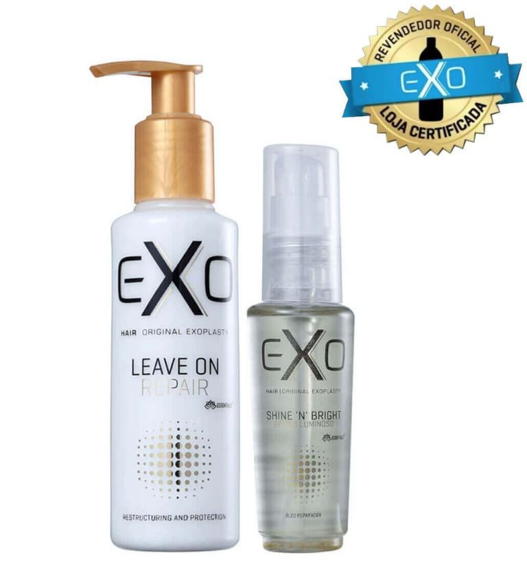 Kit Leave-in On Repair 140ml + Shine NBright Óleo de Brilho
