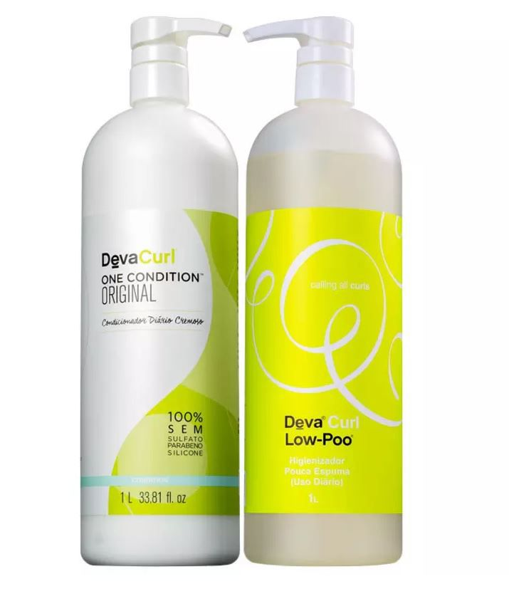 Kit Low-Poo Deva Curl 2 x 1 Litro